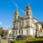12706876 – basilica of shrine of good jesus of the mountain , braga, portugal