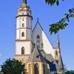 St. Thomas Church in Leipzig where Johann Bach was Choirmaster